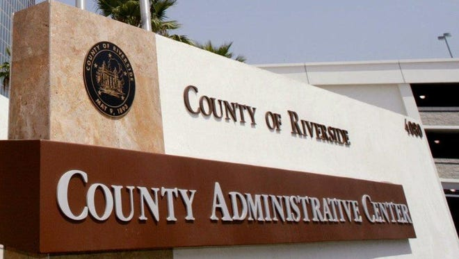 Riverside County Administrative Center.