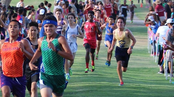 The big in city meet is the Burges/Jefferson Invitational at the Chamizal.