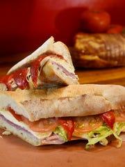 The NO. 1 sandwich at Cosmo's Italian Salumeria in
