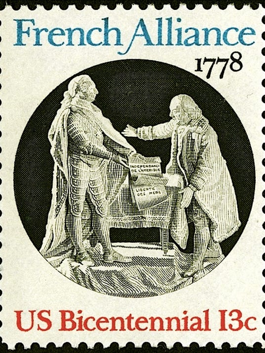 French Alliance Of 1778 Ratified May 4 In York