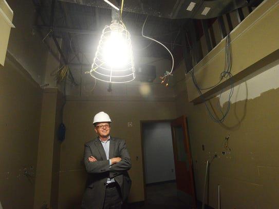 Rich Naser, president of the South Dakota Technology