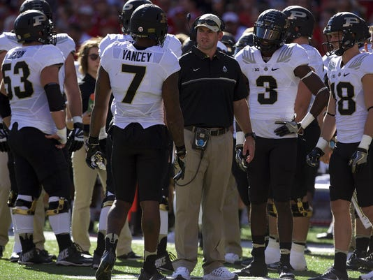 NCAA Football: Purdue at Nebraska
