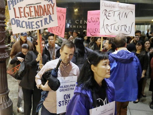 Philadelphia Orchestra Strike