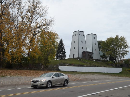 The Irish Hills Twin Towers as seen on Monday, Oct. 23, 2017 in Jackson, Mich.A hard-fought struggle to keep the historic Irish Hills Towers from meeting a wrecking ball may finally be over.