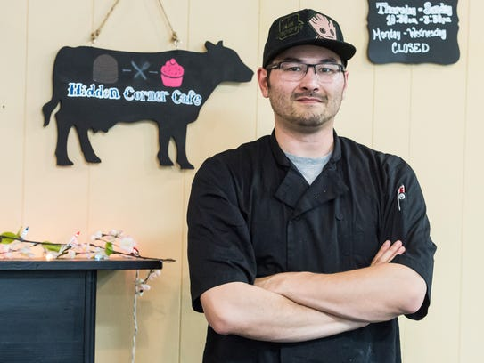 Anthony Geraci, chef and owner of the Hidden Corner