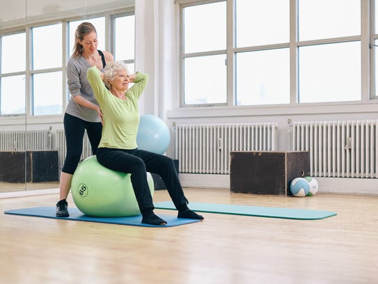 Pilates helps with age related problems.