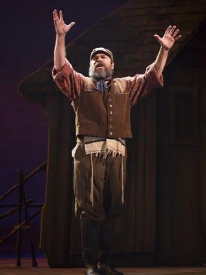 Danny Burstein as Tevye in the 'Fiddler on the Roof,' New York, Jan. 1, 2000.