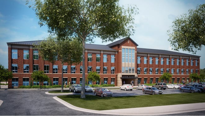 A multistory STEM building would provide additional class space at Brentwood Middle and Brentwood High.
