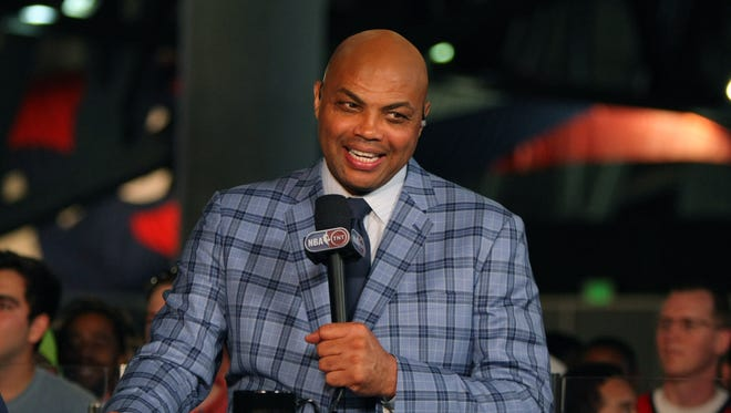 Former NBA player and current TNT television personality Charles Barkley.