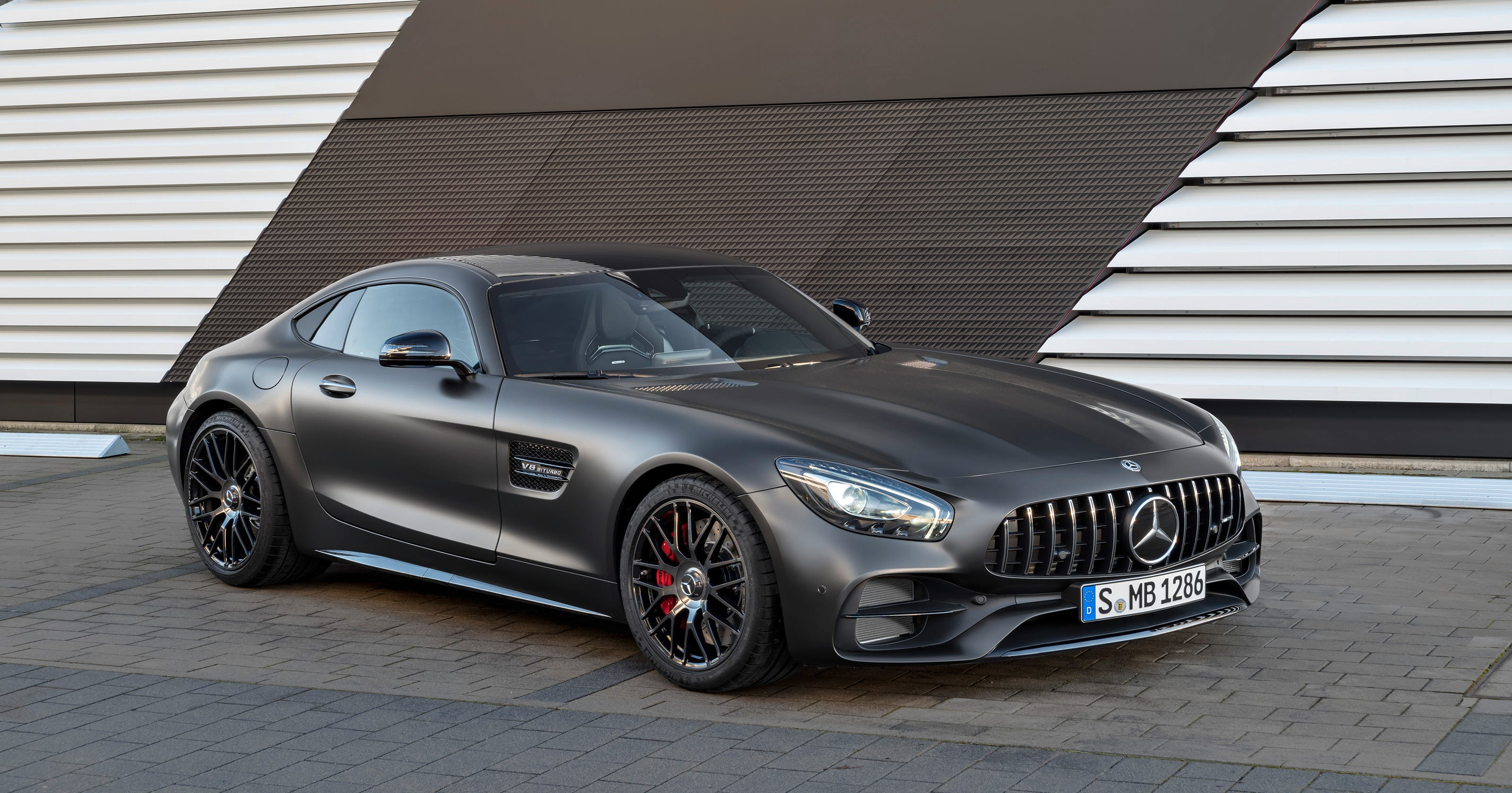 Mercedes Benz Celebrates 50th Anniversary With 2018 Gt C Coupe