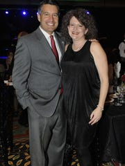 Gov. Brian and Kathleen Sandoval attend the 21st annual Michael Bolton Charities, Inc. benefit for children and women at risk Sunday Aug. 25, 2013 at the Eldorado.
