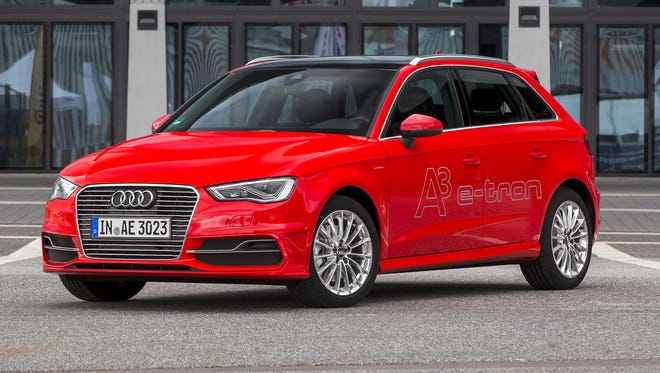 Audi's plug-in hybrid version of the A3 is coming to the U.S. with a program to offset carbon emissions