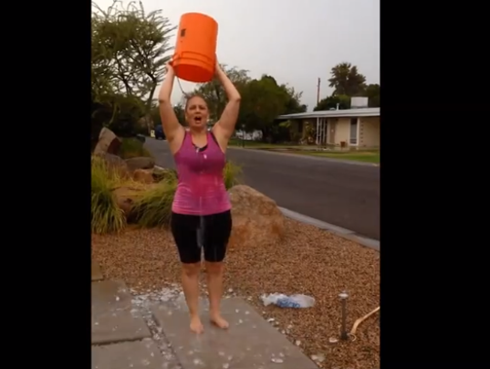 Ice Bucket Challenge Spirals Into Mega Viral Mode