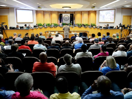 The Caddo Parish Commission voted Thursday to remove