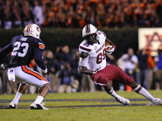 NCAA Football: South Carolina at Auburn