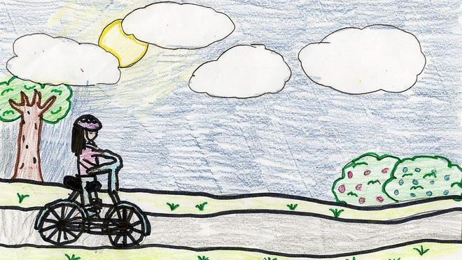 Illustration by Ruth Bitner C.E. Budd School, fourth grade