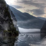 Reader photo - Scenic shot near Geiranger, Norway.
