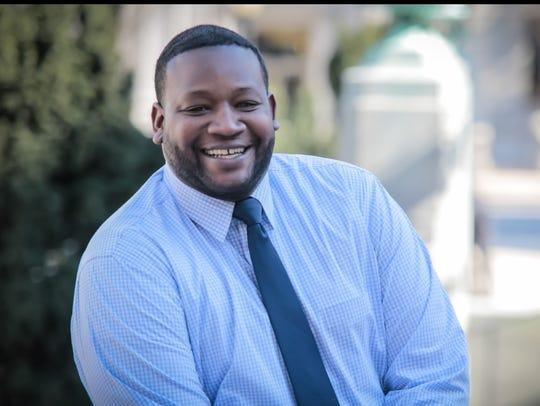 Cerron Cade, director of the Delaware Division of Small