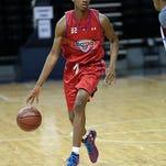 """CHARLOTTESVILLE, VA - JUNE, 18: National Basketball Players Association Top 100 Camp at the University of Virginia, in Charlottesville Virginia.(Photo by Kelly Kline) """