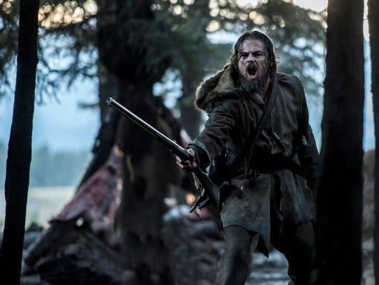 Leonardo DiCaprio plays 19th century frontiersman Hugh