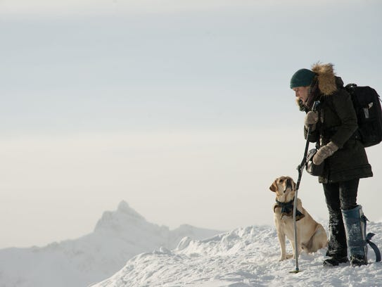 """In """"The Mountain Between Us,"""" Alex (Kate Winslet) and"""