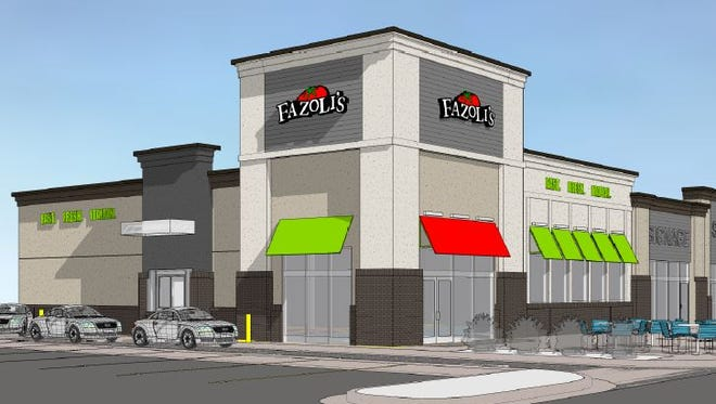 Fazoli's plans to open near The Empire Mall next year.