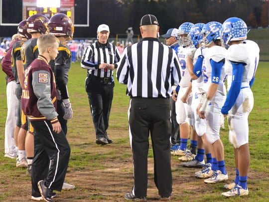 Coin Toss, Conner at Cooper.