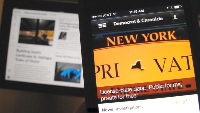 Mobile platforms for the Democrat and Chronicle