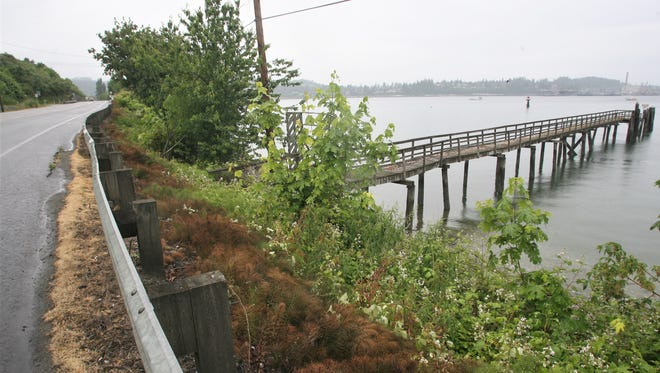 The Port of Bremerton is considering buying a 5.5-acre chunk of Port Orchard waterfront, which includes a dock and tidelands.