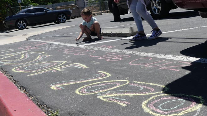 """Chalk artists have the chance to win prizes by entering Victorville Hyundai's """"Virtual Sidewalk Chalk"""" art contest now through July 3."""