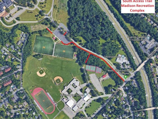 Madison NJ plans to extend pedestrian, bike trail