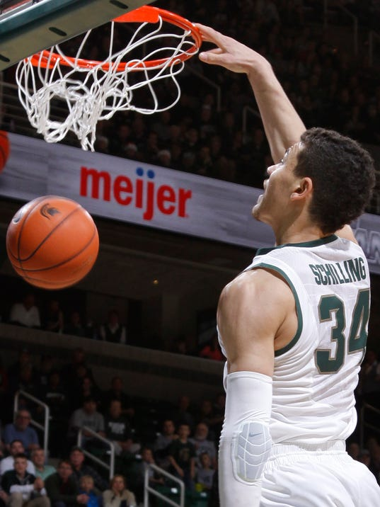 Michigan State enters Christmas break with 82-56 rout of ...