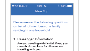 Filling out Customs forms? There's an app for that
