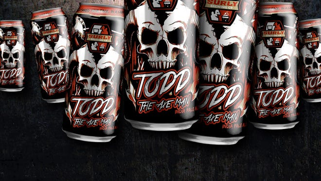 Surly Brewing Company's Todd the Axeman.