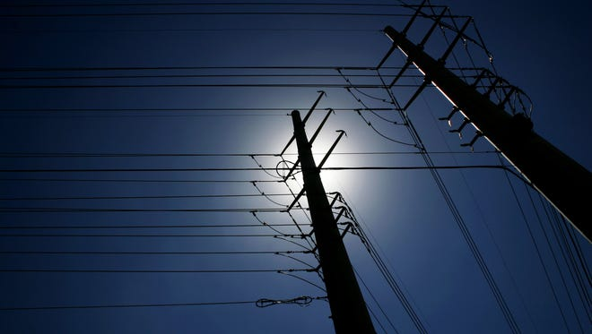 Hundreds of Fox Cities residents without power on Monday morning, Aug. 24, 2015.