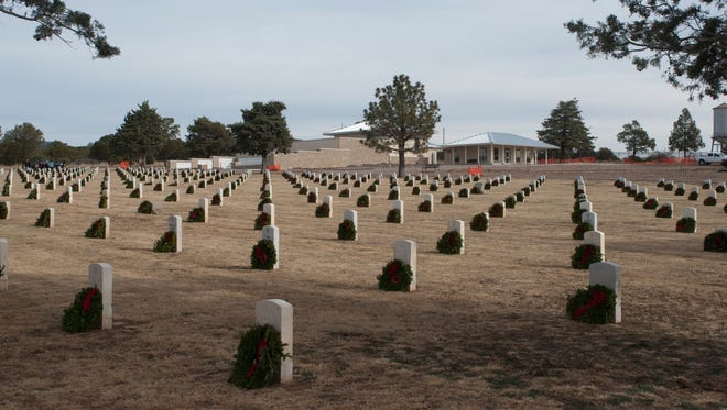 Wreaths Across America will come to Fort Bayard on Dec. 12.