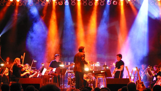 """""""Bohemian Rhapsody"""" and other rock hits are part of the """"Music of Queen"""" concert Saturday at the Heymann Performing Arts Center."""