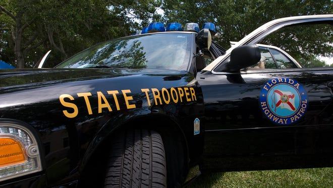 Florida Highway Patrol car.