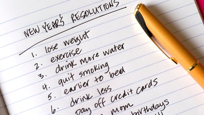 Every year we make New Year's resolutions, but keeping them is difficult to do.