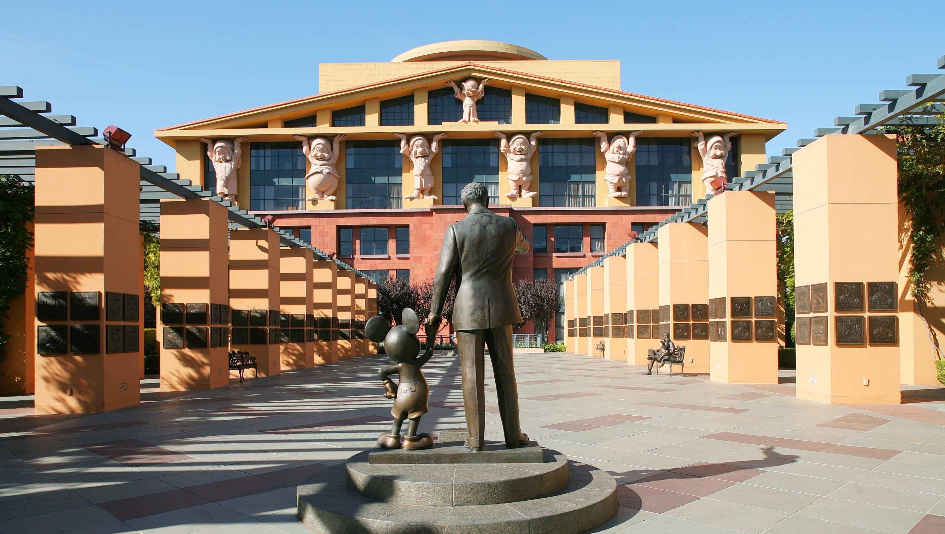 Walt Disney Studios Take A Tour Of The Working Lot