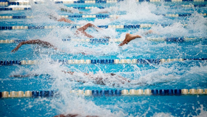 Courier Journal All-Area Boys and Girls Swim Teams