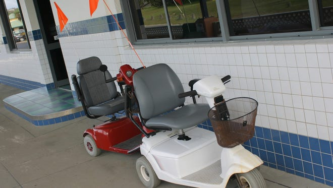 These are not the actual scooter.