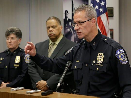 Indianapolis Metropolitan Police Department Chief Bryan