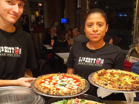 The entire Liberty Hall Pizza menu will also be available