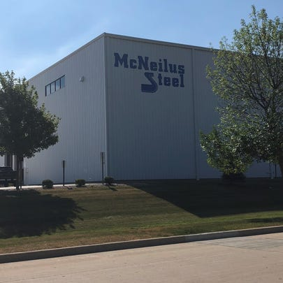 McNeilus Steel Inc., located on Larsen Drive.