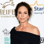 "Diane Lane arrives at the 3rd Annual Beyond Hunger Gala, in Beverly Hills, California on Aug. 22, 2014. Lane returns to the stage in ""The Mystery of Love & Sex,"" a new play by Bathsheba Doran at Lincoln Center Theater in New York,  the same place where in 1977 at age 12, she was in the ensemble of ""The Cherry Orchard"" with Raul Julia and Meryl Streep."