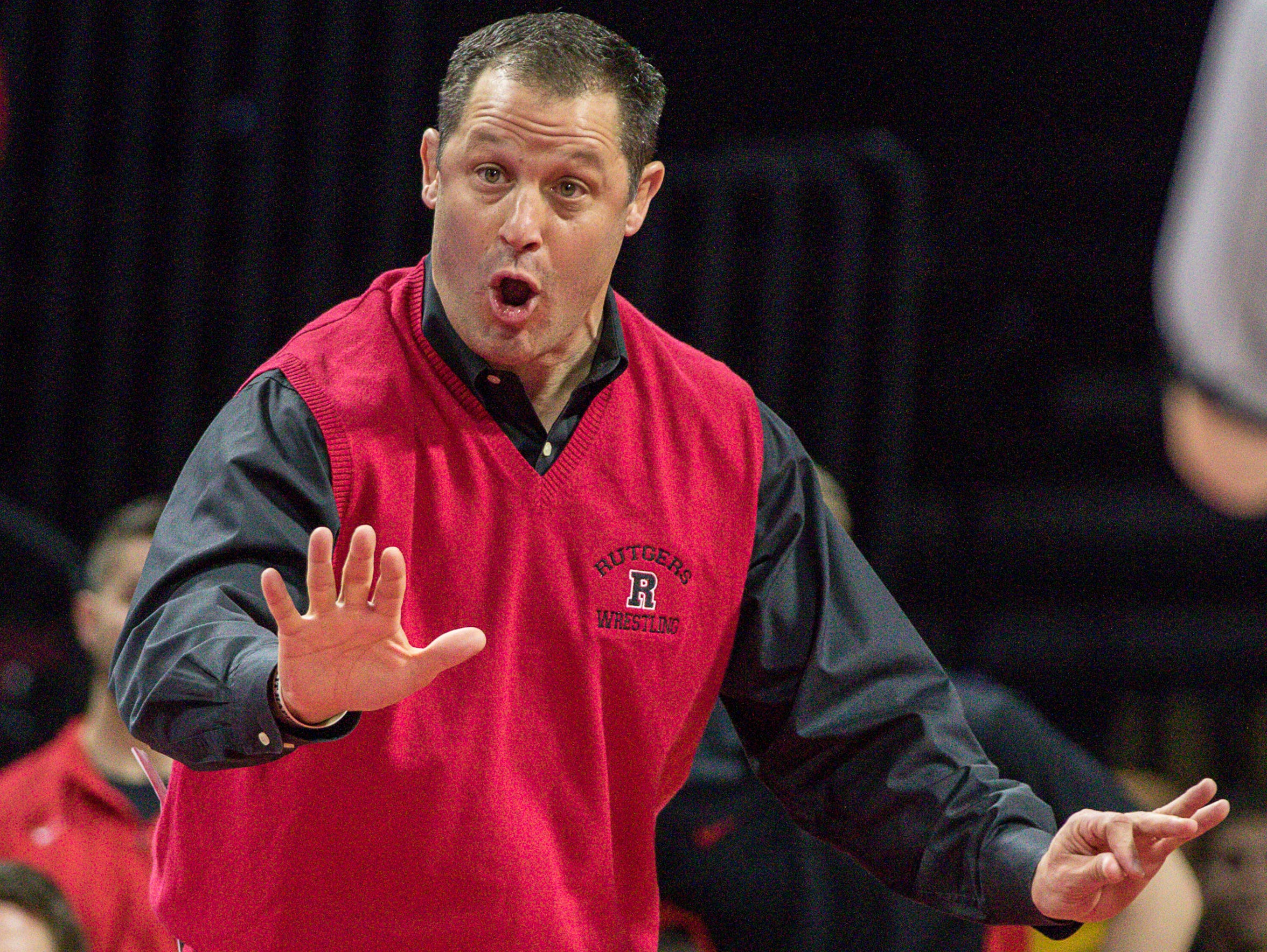 Rutgers wrestling coach Scott Goodale  is in his ninth