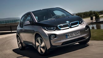 The  2014 BMW i3 electric car finds it's easy to be green.