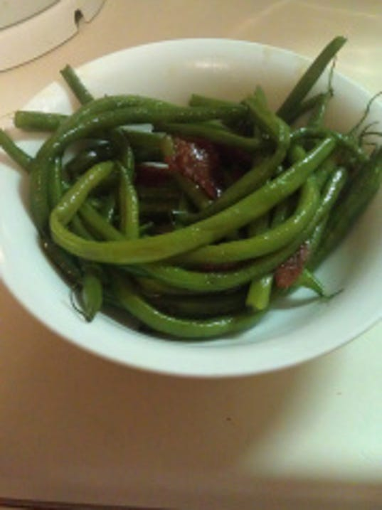 Green bean goodness. Photo by BETHANY FEHLINGER