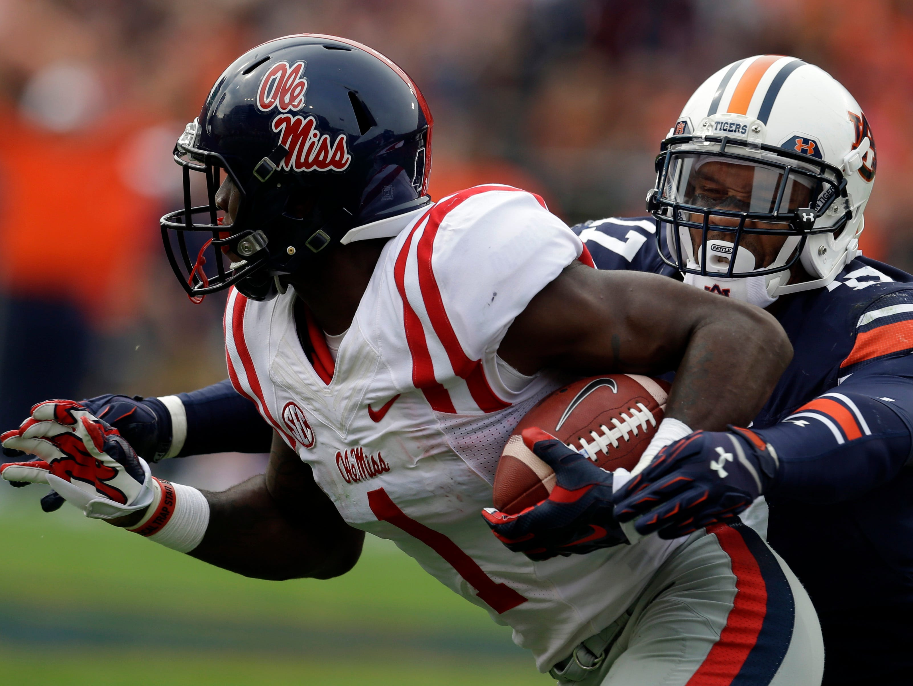 Ole Miss receiver Laquon Treadwell is the school's nominee for the Conerly Trophy.